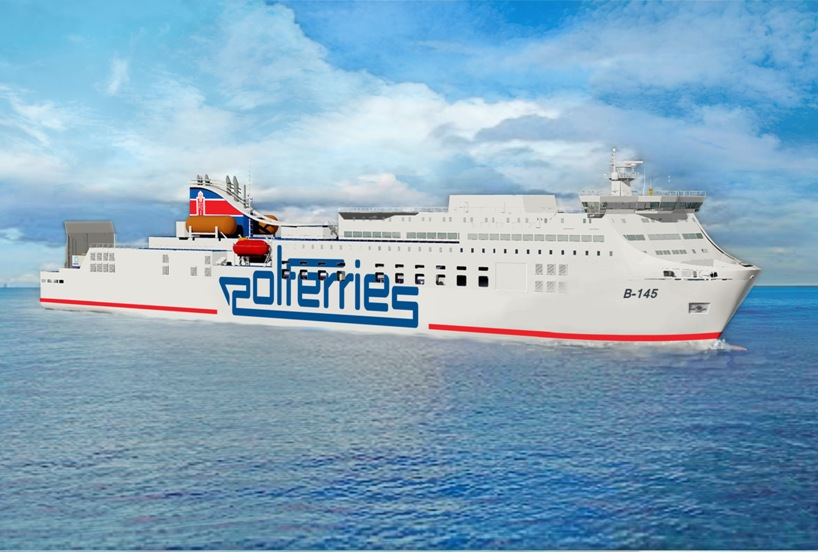 Keel laying for ro-pax ferry